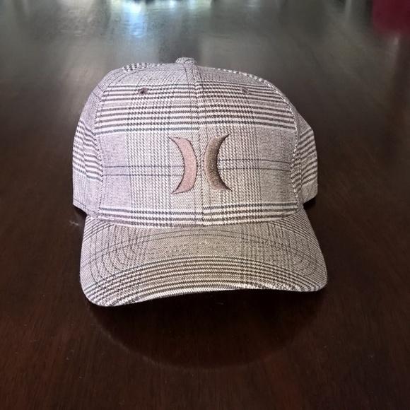 b72df07a3 Hurley Houndstooth Flexfit Hat M/L